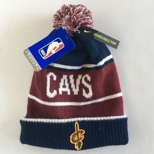 Nike Accessories - Nike Cleveland Cavaliers Winter Beanie Hat - NWT af3e1424d95
